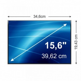 "15,6"" LED Slimline Laptop Scherm Glossy 1366x768"
