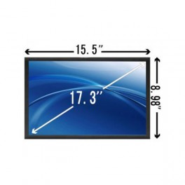 MSI MS-1736 Laptop Scherm LED