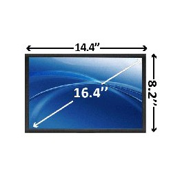 "16,4"" LED Full HD Scherm Glossy 1920x1080"