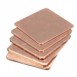 Copper Shim 15x15MM 0.8MM