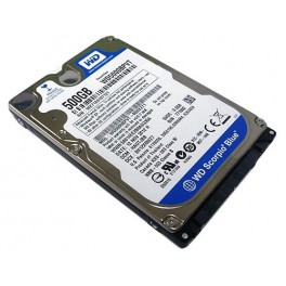 "WD Blue Mobile 500GB, 5400rpm, 2.5"", 8MB, SATA3"
