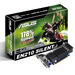 ASUS GeForce EN210 SILENT/DI/1GD3/V2 - 1GB - PCI-E