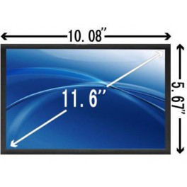 "11,6"" eDP LED Slim Scherm Mat 1366x768"